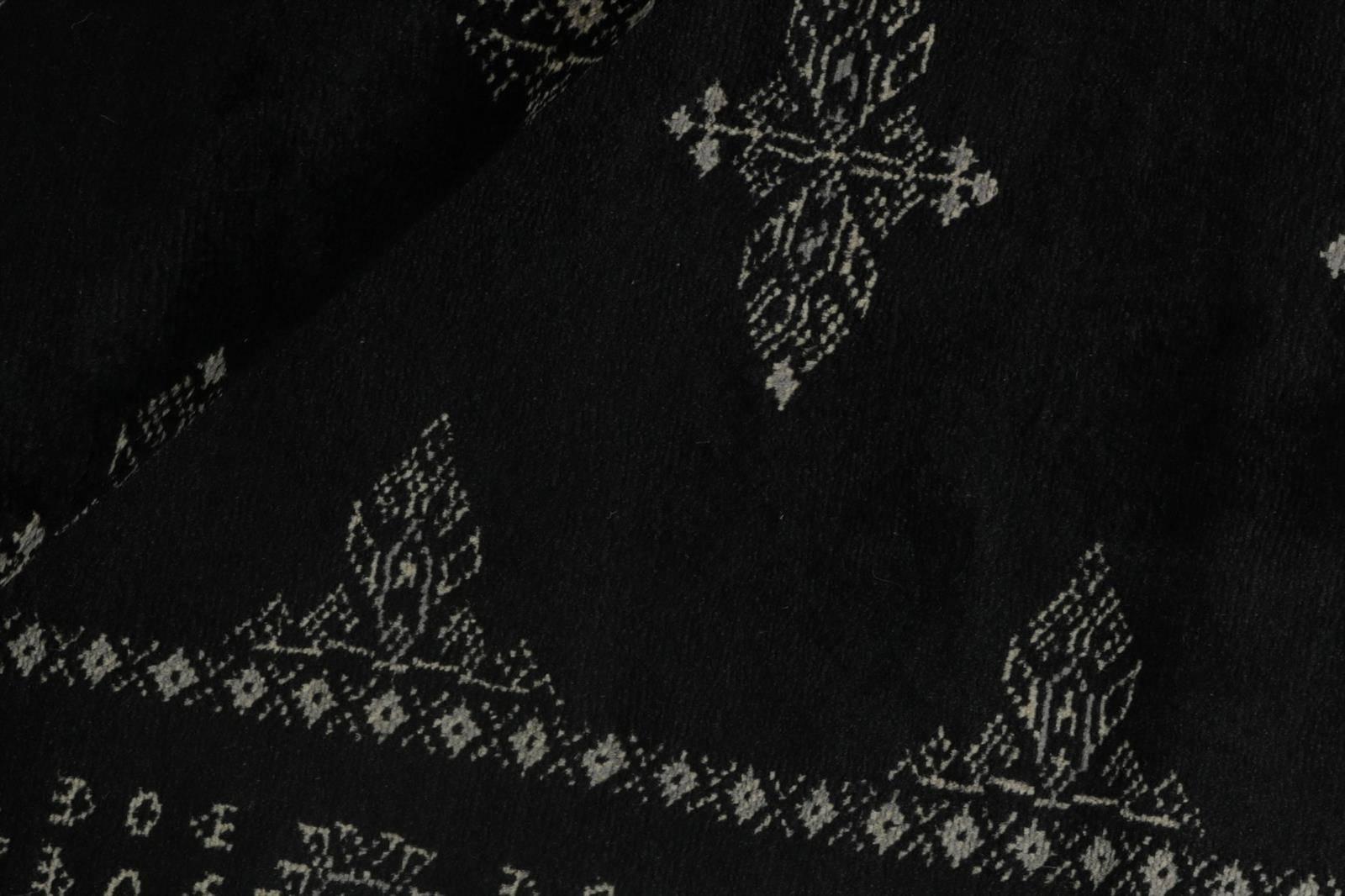 Chodnik Wełniany Pakistan Tekke Black 1382729 77x319