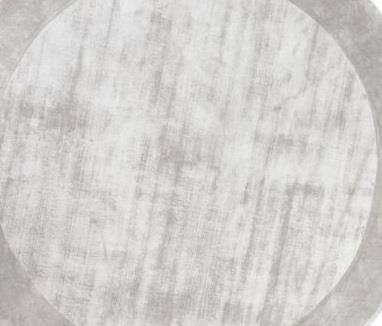 Dywan Carpet Decor Tere Light Grey Handmade Collection Round