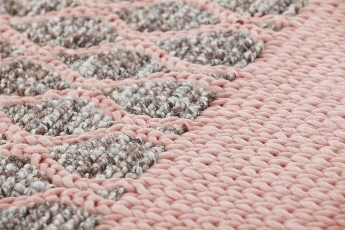 Dywan Gan Mangas Space Rhombus Pink