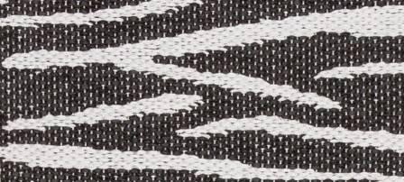 Dywan Horredsmattan Zebra Black 21014