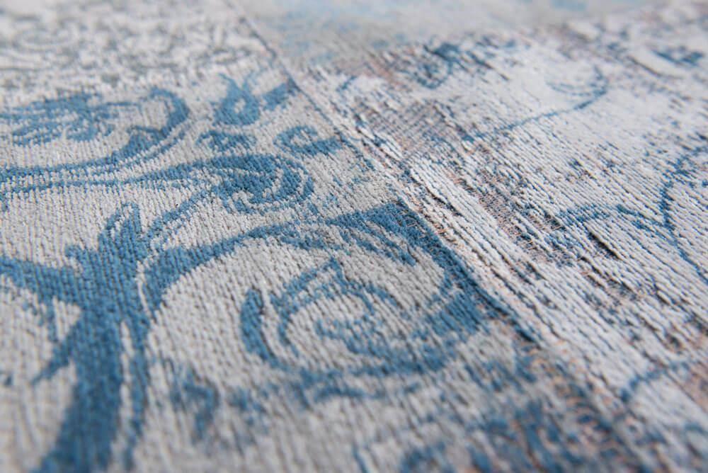 Dywan Louis de Poortere Vintage Patchwork Multi Bruges Blue 8981
