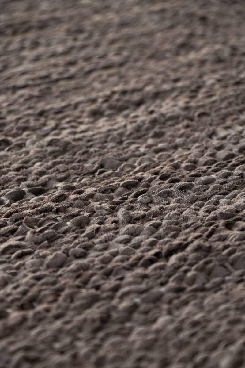 Dywan Rug Solid Leather Wood
