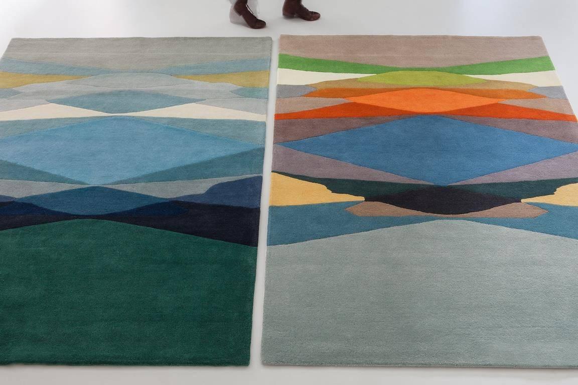 Dywan Serge Lesage Distortion Multi-Coloured